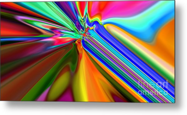 2x1 Abstract 313 Metal Print by Rolf Bertram