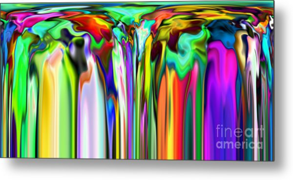 2x1 Abstract 324 Metal Print by Rolf Bertram