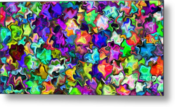 2x1 Abstract 366 Metal Print by Rolf Bertram