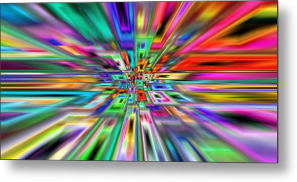 2x1 Abstract 403 Metal Print by Rolf Bertram