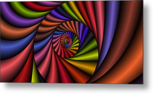 2x1 Abstract 431 Metal Print by Rolf Bertram