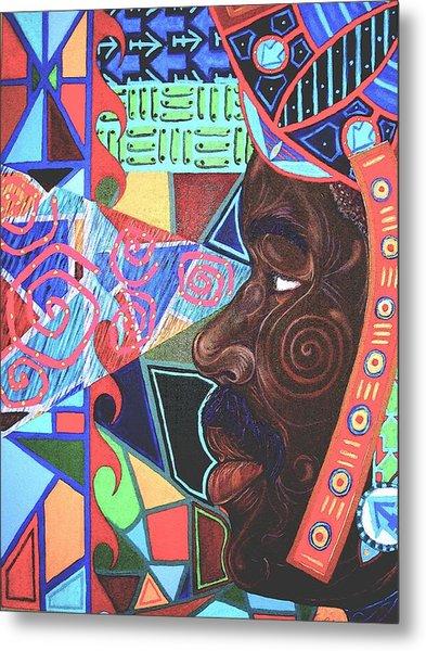 Aesthetic Ascension Metal Print by Malik Seneferu