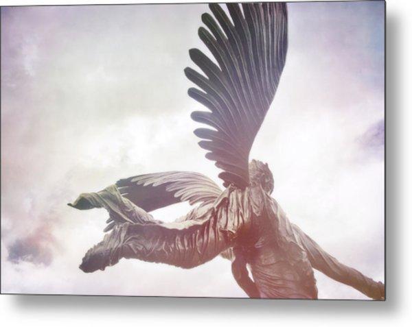 Airborne Angel Metal Print by JAMART Photography