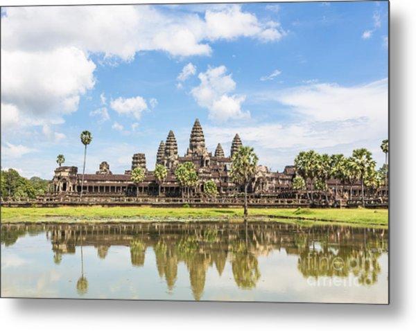 Angkor Wat Metal Print