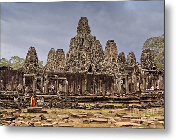 Metal Print featuring the photograph Angkor Wat by Juergen Held