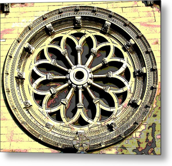 Architecture Series Metal Print by Ginger Geftakys