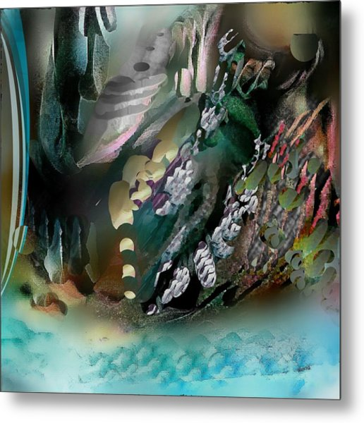 Divine Colors Of Art Metal Print