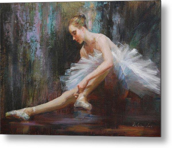 Ballerina Metal Print by Kelvin  Lei
