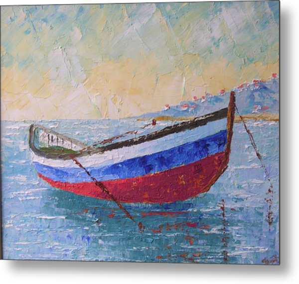 Boat Of Provence  Metal Print by Frederic Payet