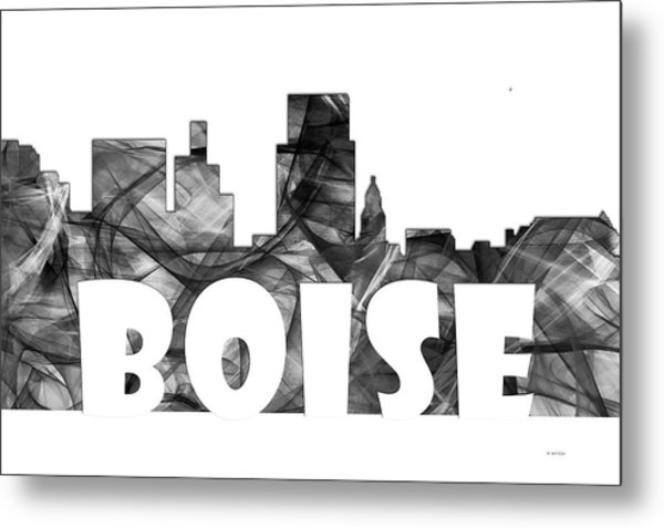 Boise Idaho Skyline Metal Print