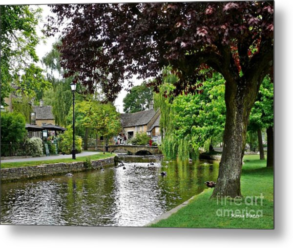 Bourton-on-the-water Metal Print