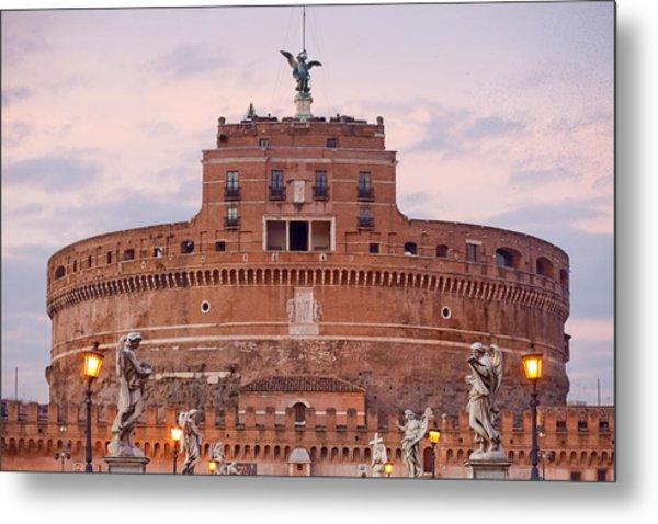 Castel Sant'angelo Metal Print by Andre Goncalves