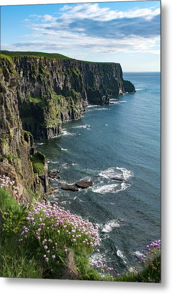 Cliffs Of Moher, Clare, Ireland Metal Print