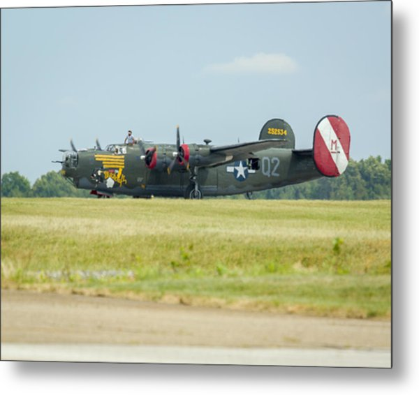 Consolidated B-24j Liberator Metal Print