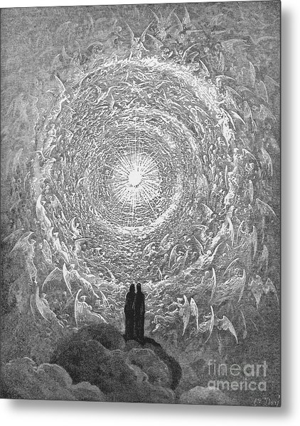 Metal Print featuring the photograph Dante: Paradise by Granger