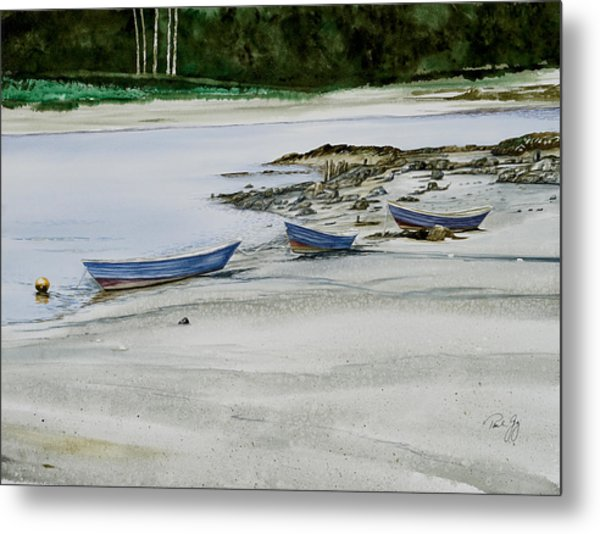 3 Dories Kennebunkport Metal Print