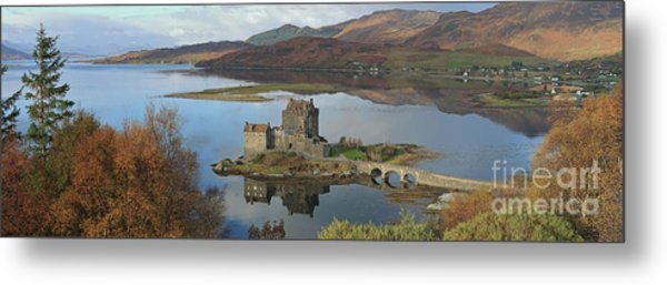 Eilean Donan Castle - Panorama Metal Print