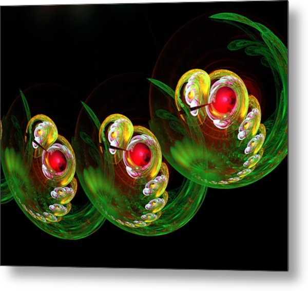 3 Embryos Metal Print