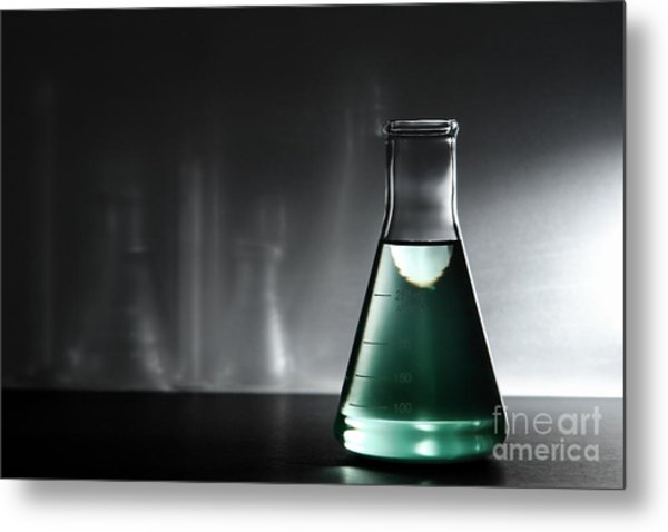 Equipment In Science Research Lab Metal Print