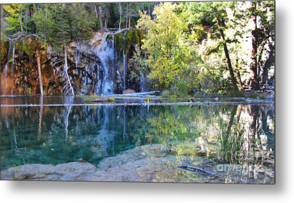 Metal Print featuring the photograph Hanging Lake by Kate Avery
