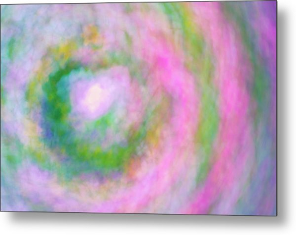 Metal Print featuring the photograph Impression Series - Floral Galaxies by Ranjay Mitra