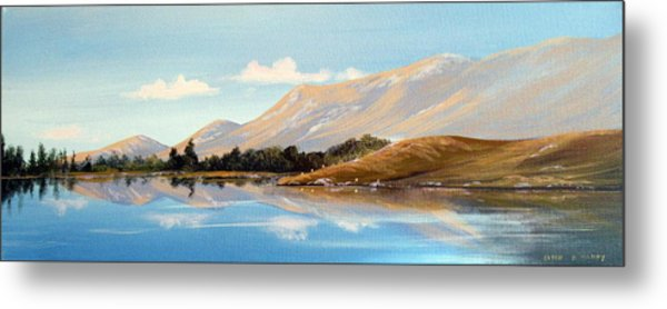 Inagh Valley Reflections Metal Print by Cathal O malley