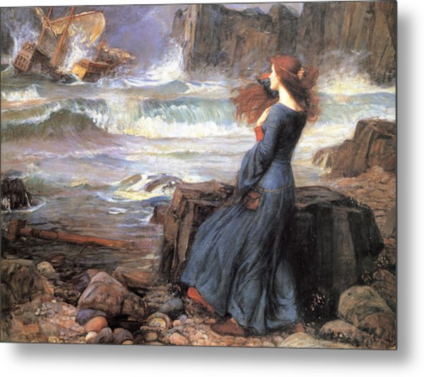 Miranda - The Tempest Metal Print