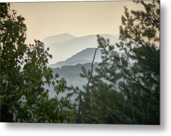 Metal Print featuring the photograph Mountains In The Distance by Willard Killough III