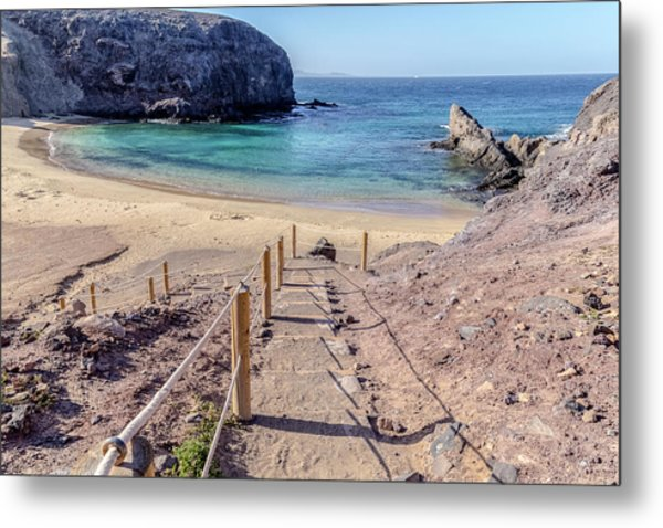 Playa Papagayo - Lanzarote Metal Print