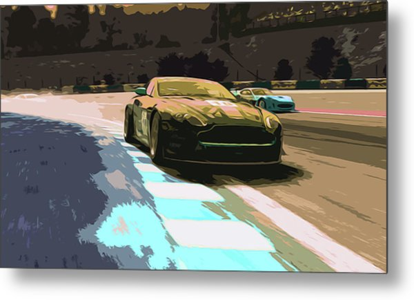 Power And Motors Metal Print by Andrea Mazzocchetti