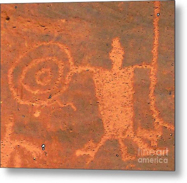 Rock Art - Utah Metal Print
