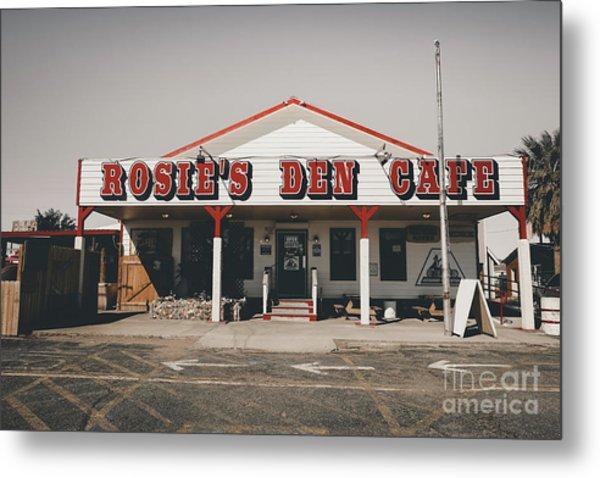 Rosies Den Cafe   Metal Print