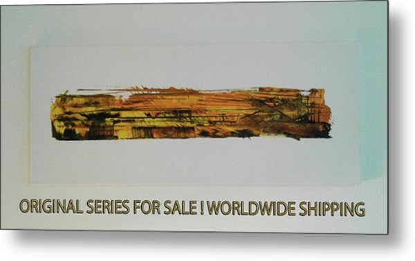 Series Abstract Worlds Only Originals For Sale Worldwide Shipping Metal Print