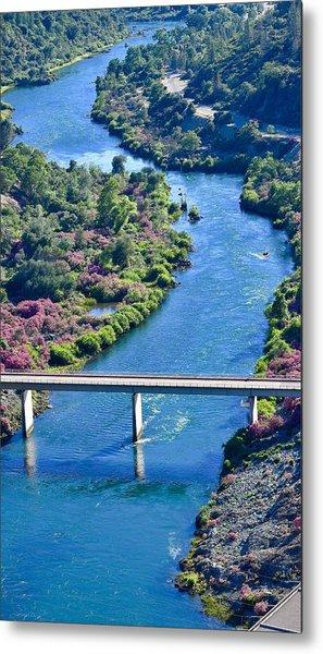 Shasta Dam Spillway Metal Print