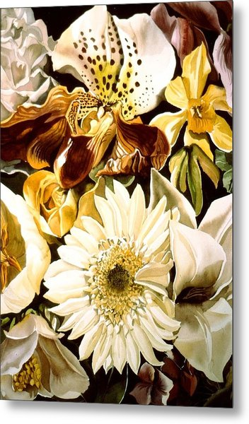 Spring Bouquet Metal Print