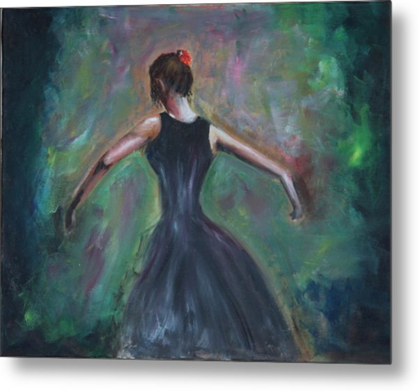 The Dancer Metal Print by Taly Bar