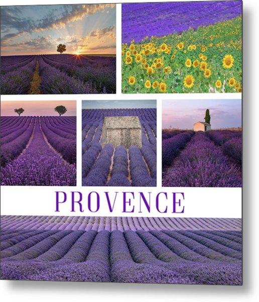 Valensole - Provence, France Metal Print