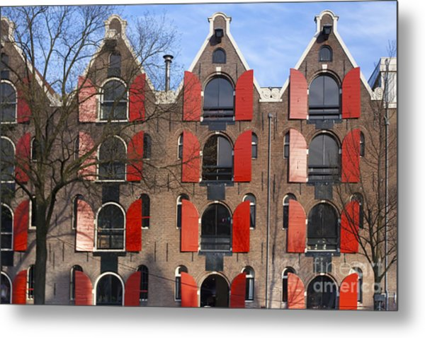 Amsterdam Metal Print by Andre Goncalves