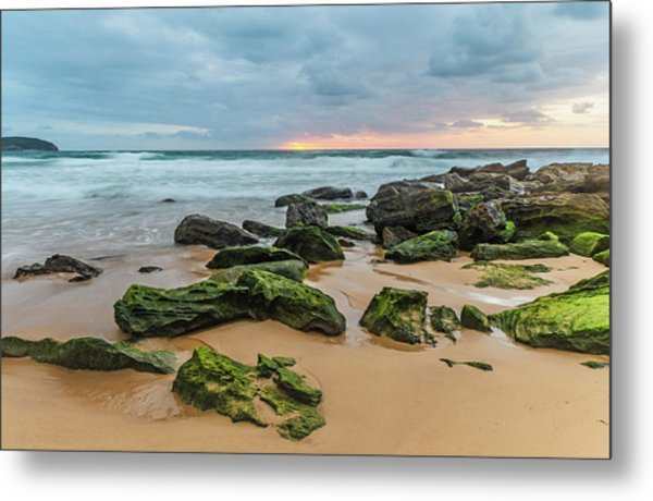 Dawn Seascape Metal Print