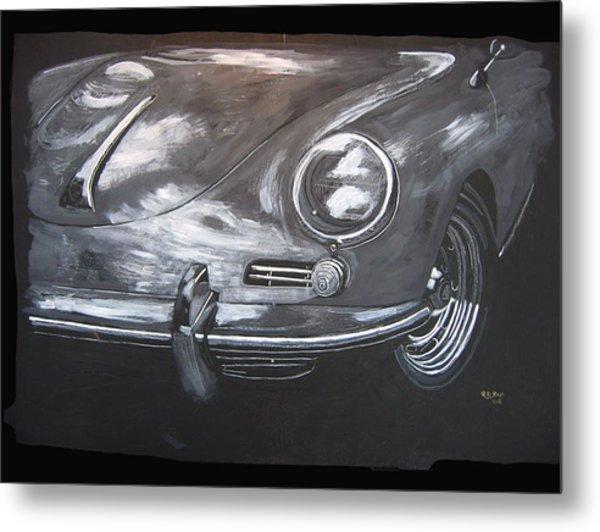 356 Porsche Front Metal Print