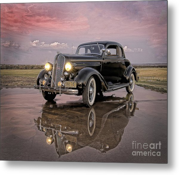 36 Plymouth Reflections Metal Print