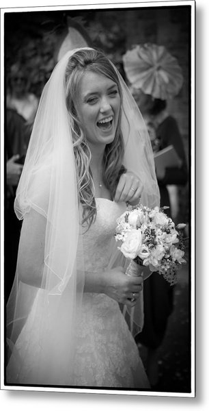 Tim And Finn Wedding 2012 Metal Print