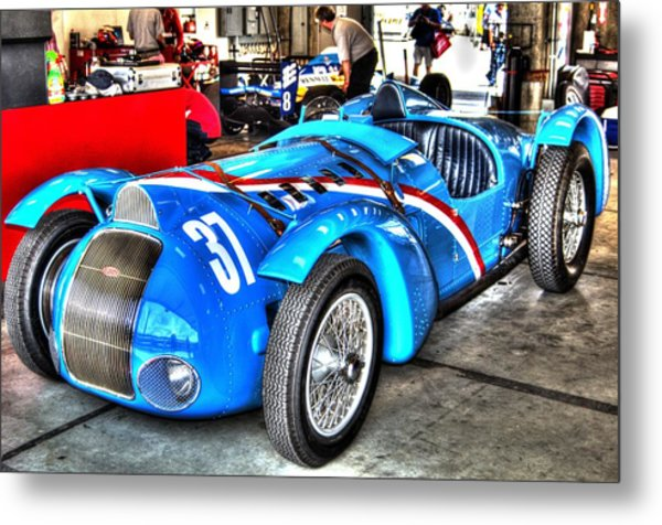 Delahaye Fast From The Front Metal Print