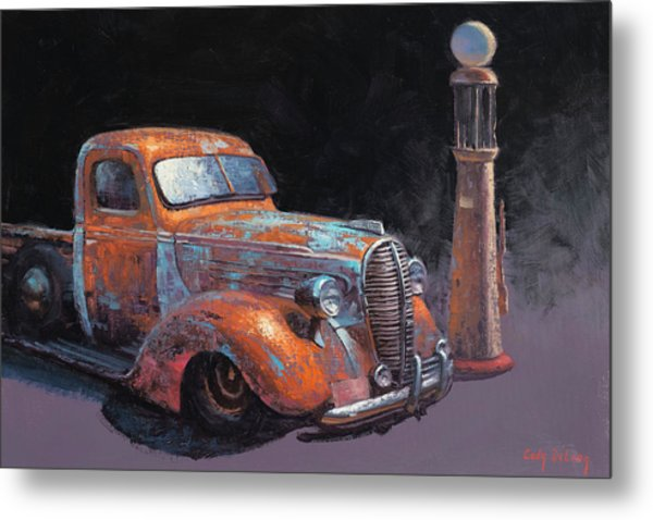38 Fat Fender Ford Metal Print