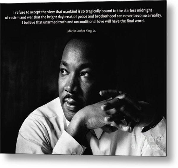 39- Martin Luther King Jr. Metal Print
