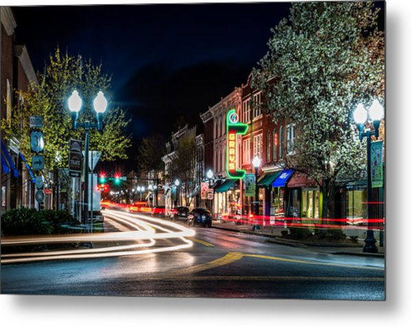 Franklin, Tennessee - 3rd And Main Metal Print