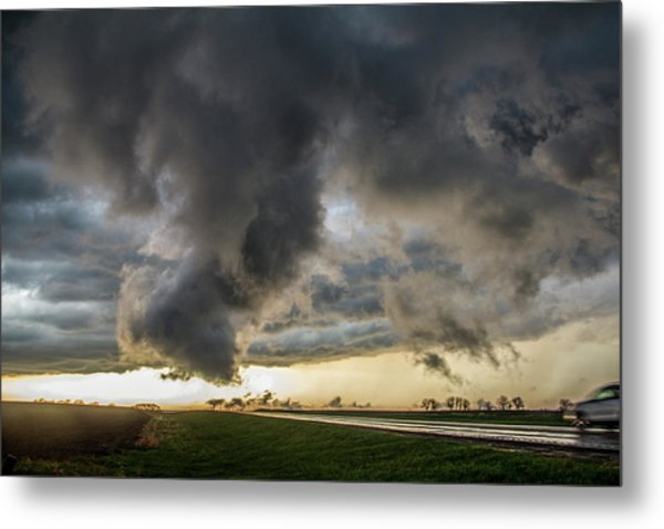 3rd Storm Chase Of 2018 051 Metal Print