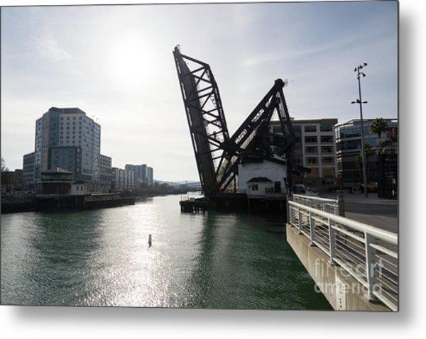 3rd Street Bridge Lefty O'doul Bridge San Francisco Dsc5778 Metal Print