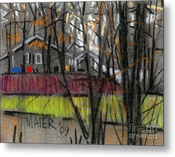 Across The Creek Metal Print by Donald Maier