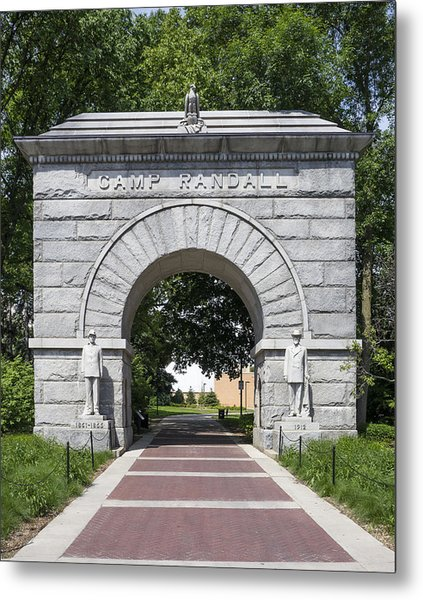 Camp Randall Memorial Arch - Madison Metal Print